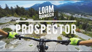 ALBERTA ROCK SLABS? // Mountain Biking Prospector Trail