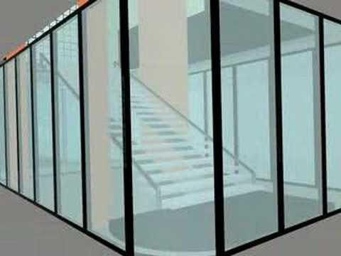 la maison de verre doovi. Black Bedroom Furniture Sets. Home Design Ideas