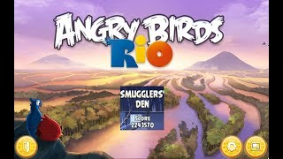 Angry Birds: Rio. Smuggler's Den (level 1) 3 stars. Прохождение от SAFa