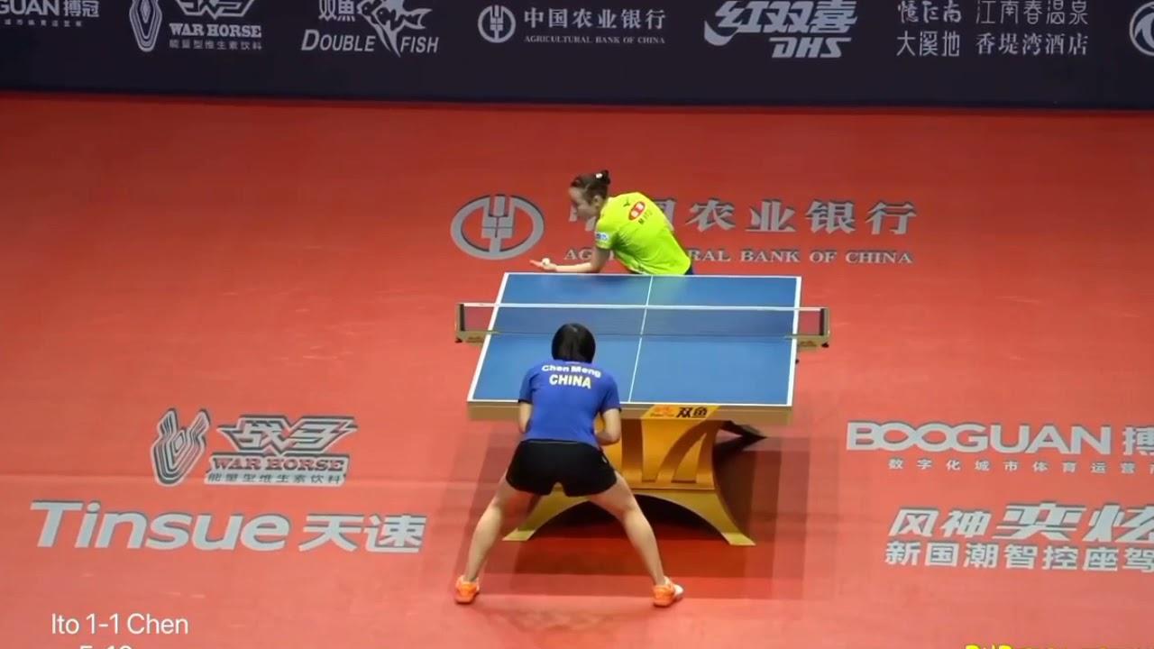 Download WTT Final Best Match : Chen Meng VS Mima Ito world Tour Championship / Anis Santosa Official