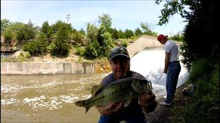 Reservoir Discharge Black Bass // KS USA