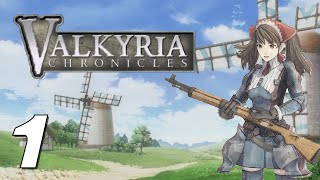 Valkyria Chronicles - STORY MODE Playthrough (Part 1)