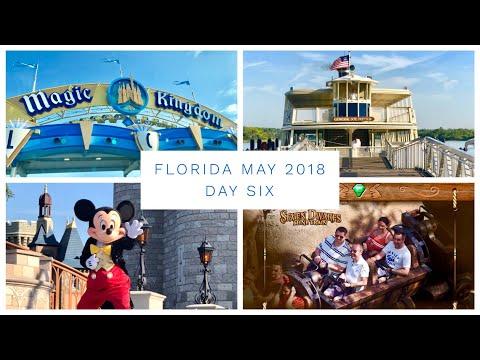 Walt Disney World & Florida Vlog  May 2018  Day 6  Disney's Magic Kingdom