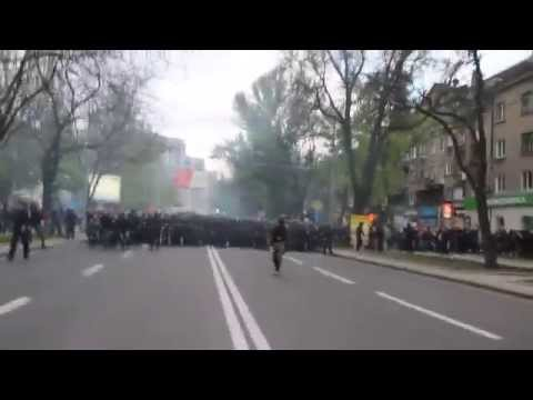 Donetsk - Violent Clashes - April 28th