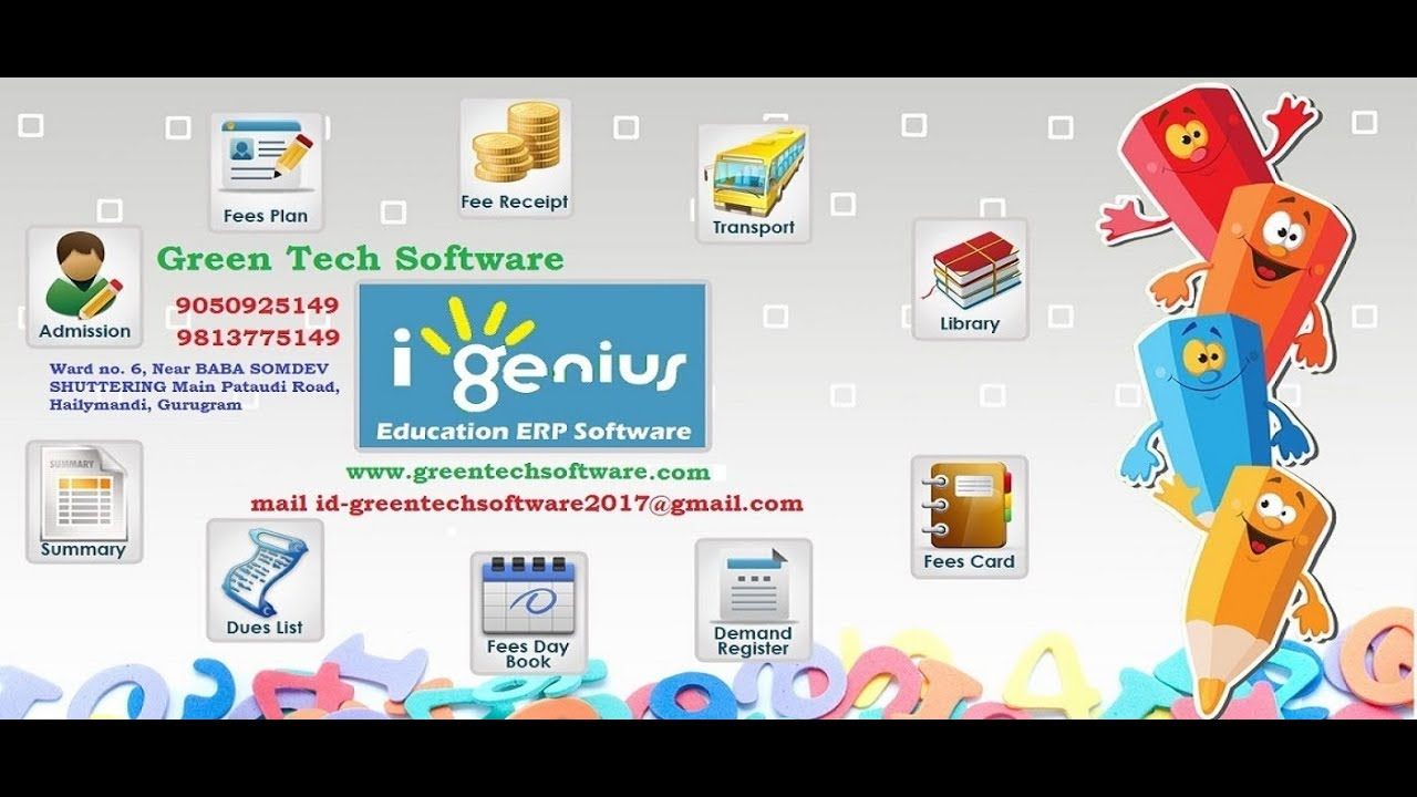 How to Print Out Identity Card of Students with i - Genius School  Management Software