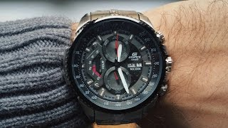 CASIO EDIFICE EF-558D-1AV Review | Bang for the buck