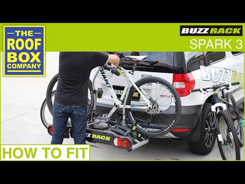 buzz rack spark 3 bike carrier how to fit