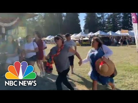 Brother Wease - Video Show Festival Goers Running During Mass Shooting