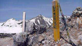 BCクロカンで行く北アルプス(猿倉〜白馬鑓ヶ岳)2015年5月1日 Crosscountry skiing downhill  in Hakuba