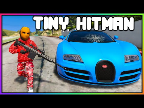 GTA 5 Roleplay - TINY HITMAN JOBS   RedlineRP