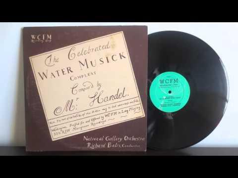 G.F. Haendel-Water Music /  WCFM Recording Corp.