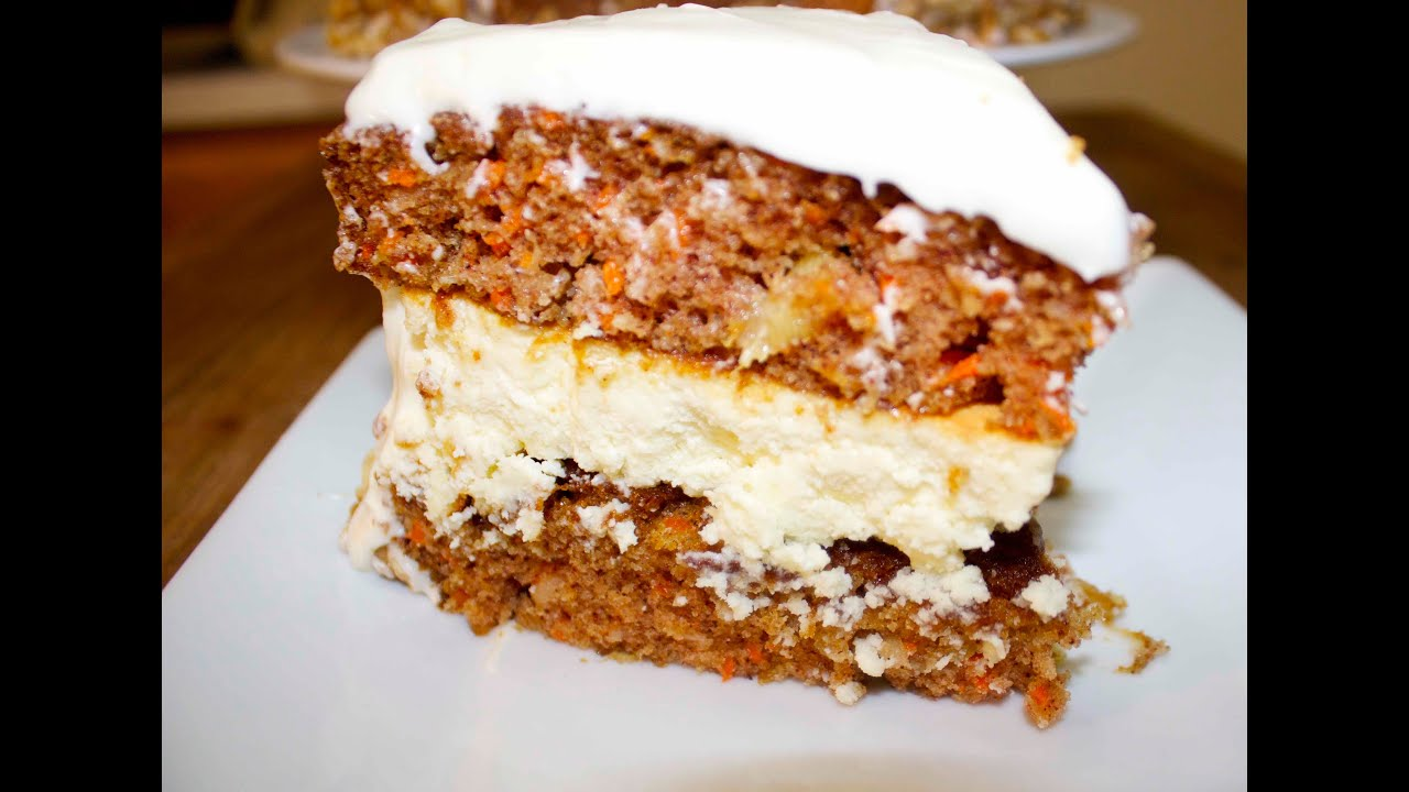 You Tube Video To Make Carrot Cake Cheesecake