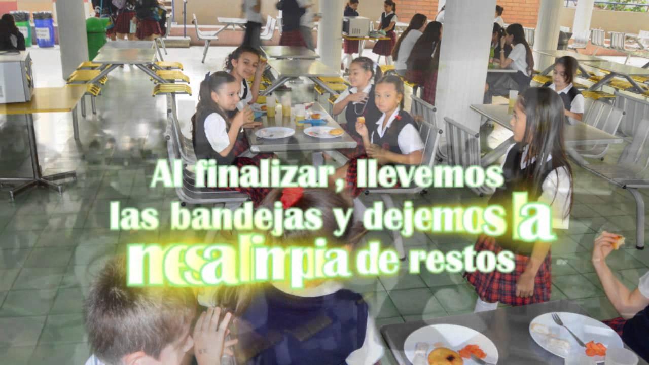 Buenos modales en el comedor escolar - Colegio Palermo de San José ...