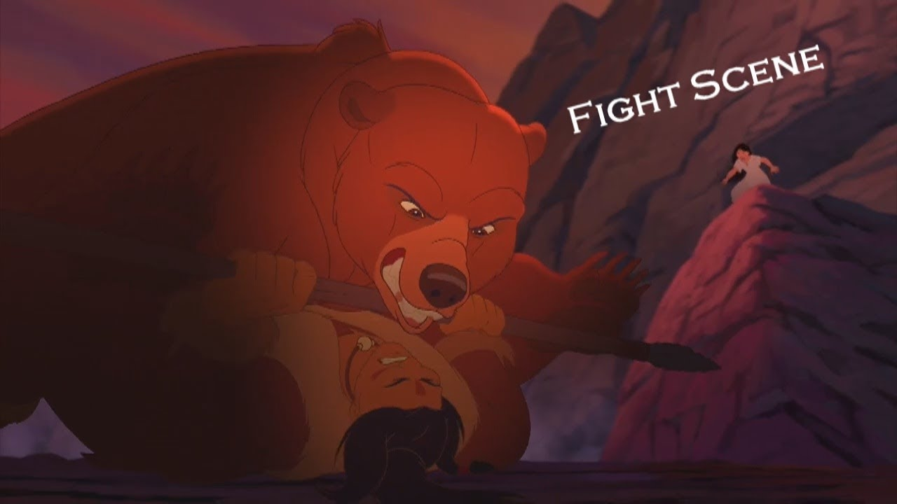Download Brother Bear 2 - Fight Scene (HD)