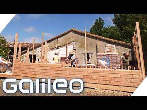Brikawood: Ist das Haus der Zukunft? | Galileo | ProSieben