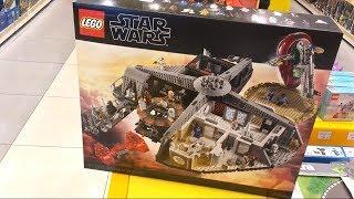 Влог из Мира Кубиков / Новый Эксклюзивный Набор Лего Звездные Войны 75222 Западня в Облачном Городе