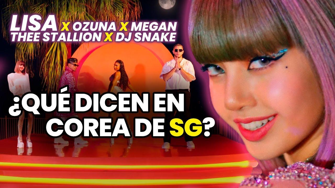 Download Salió SG, la colaboración entre LISA, OZUNA, DJ SNAKE y MEGAN THEE STALLION. ¿Qué dicen en COREA?