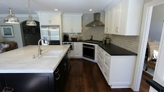 Transitional Style Design Build Kitchen Remodel In Laguna Niguel Orange County By Aplus