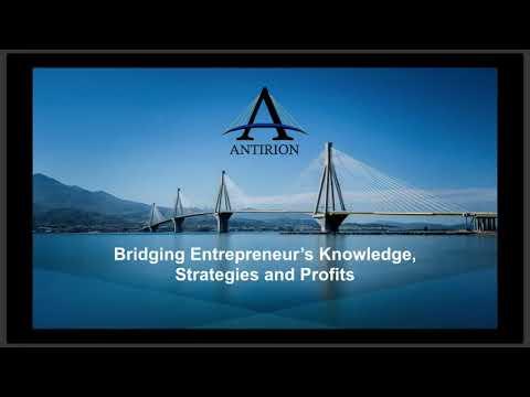 Antirion LLC Bridging Entrepreneur's Knowledge, Strategies, Profits