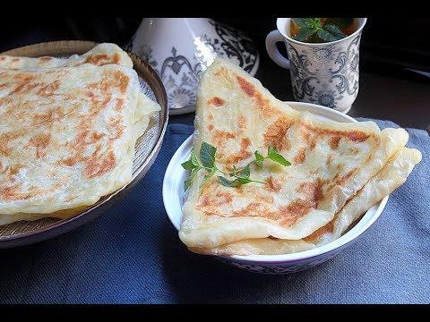 Je reviens avec une nouvelle recette de msemen /مسمن بالشكل المثلث وبعجينة جديدة
