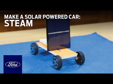 How to Make a Solar Powered Car | STEAM | Ford