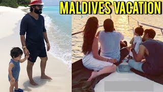 New Pictures | Kareeena Kapoor, Saif Ali Khan, Taimur's Maldives Holiday