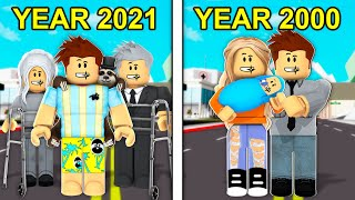 Time Traveling In Roblox Brookhaven..