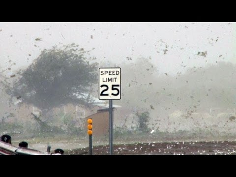 Supercell Thunderstorm with VERY Large Hail and Damaging Winds- Guthrie, TX 5.30.2012