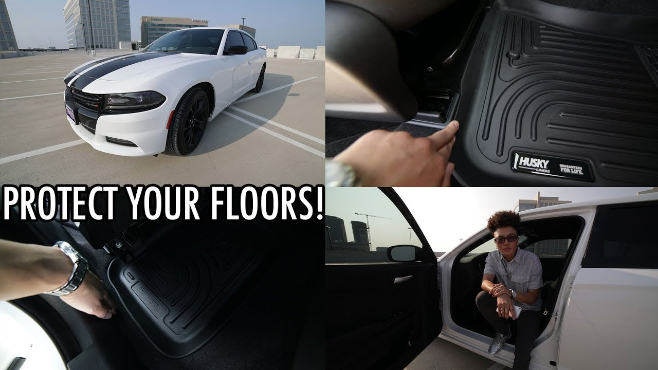 Car Floor Mats Review Husky Liners For Dodge Charger Youtube