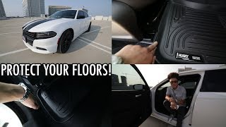 Car Floor Mats Review | Husky Liners for Dodge Charger