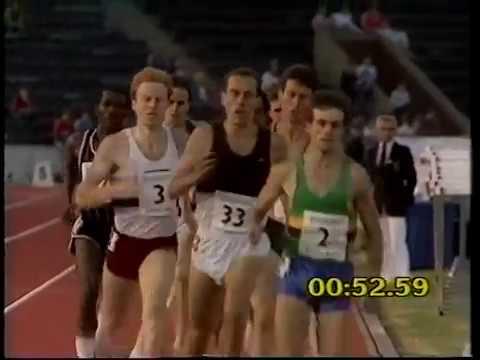 Ovett/ Wuyke/ Elliott/ Walker - AAA 800m 1983