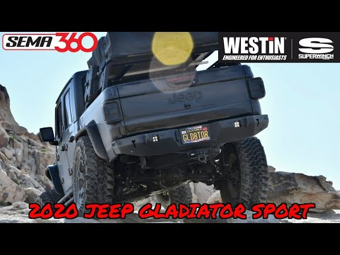 Westin/Superwinch Gladiator Build