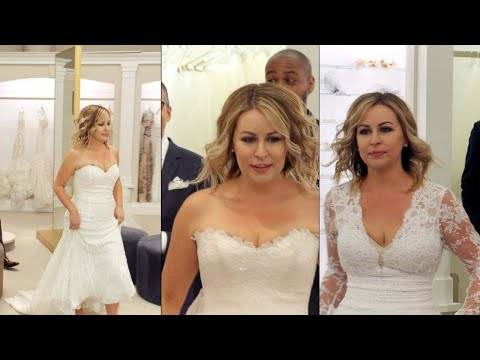 Watch This Bride Go Dress Shopping at Kleinfeld for a Wedding Redo After 109Lb. Weight Loss