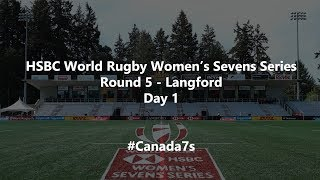 HSBC World Rugby Women's Sevens Series 2019 - Langford Day 1