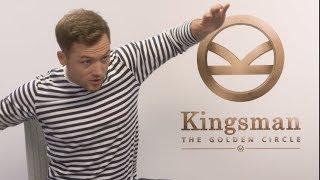 Kingsman the golden circle interviews - egerton, firth, bridges, vaughn, berry, pascal, moore
