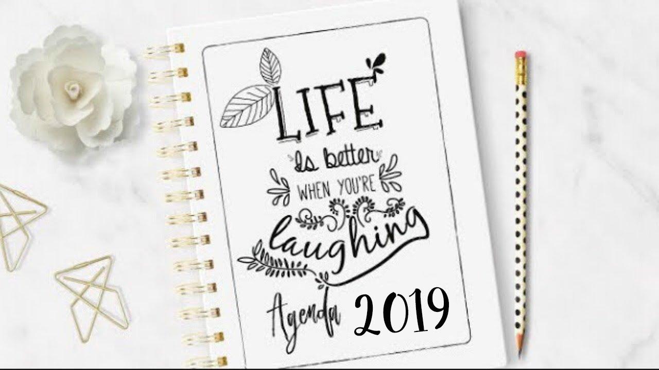 Calendario Diario Para Imprimir 2019.Agenda 2019 Para Imprimir Gratis Diy