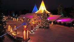 Weihnachtsmanndorf in Rovaniemi vor Weihnachten 2020 - Santa Claus Village Lappland Finnland