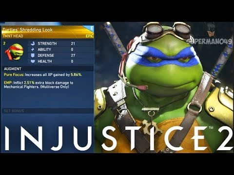 Awesome EPIC Ninja Turtles Gear - Injustice 2: Mother Box Opening & Epic Ninja Turtles Gear Showcase