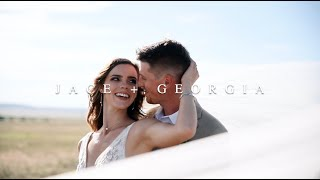 Georgia + Jace | Wyoming Wedding