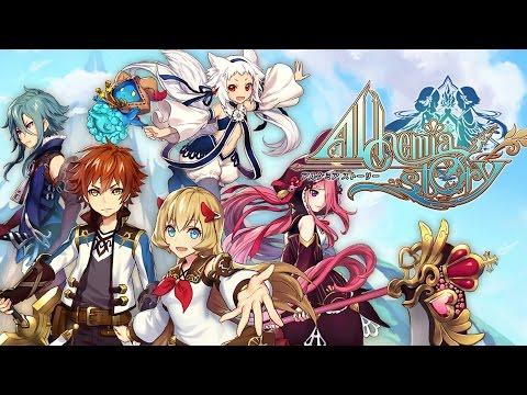 Alchemia Story Online Gameplay JRPG  (Mobile) 【アルケミアストーリー】