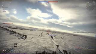 War Thunder - CR.42 Falco, 5 kills (best graphics)