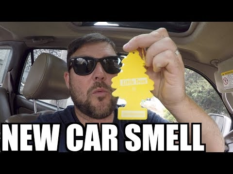 RECREATE THAT NEW CAR SMELL