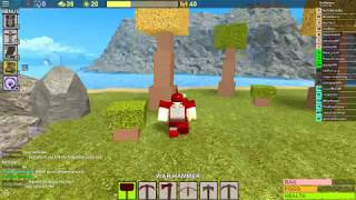 Roblox booga booga+A lvl 403 in my game!+destroying Old God