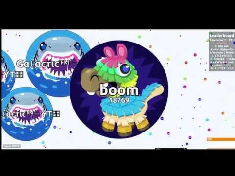 Agar.io -1000 BOTS VS GOLDEN STAR // popsplit / 50k takeover #boom