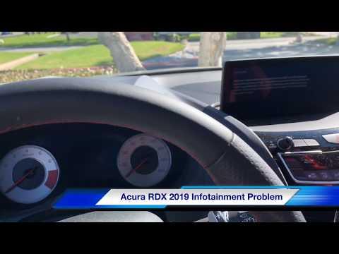 2019 Infotainment System Frozen Acurazine Acura