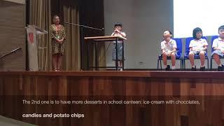 Katie's Student Council Speech