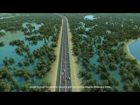 The construction of the Monrovia Somalia Drive-Sinkor Road and Bridge Project