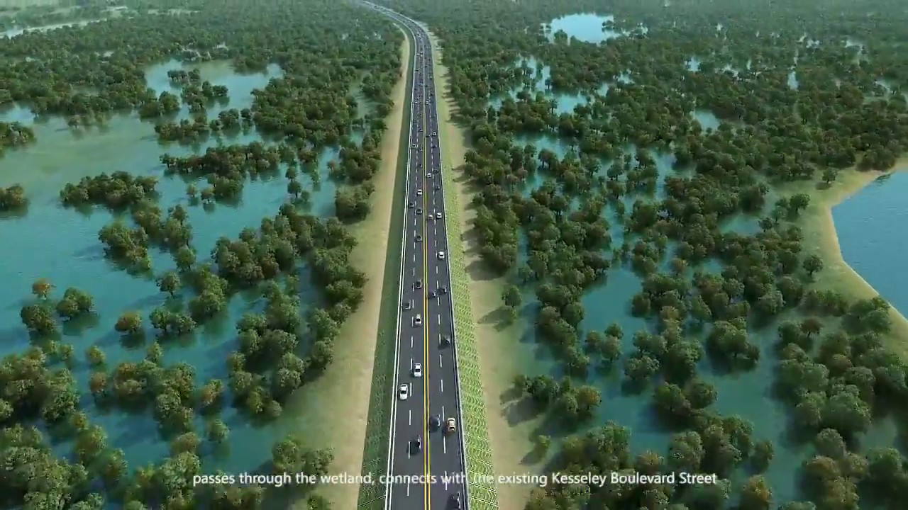 The construction of the Monrovia Somalia Drive-Sinkor Road and Bridge  Project