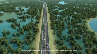 The construction of the Monrovia Somalia Drive-Sinkor Road and Bridge Project thumbnail