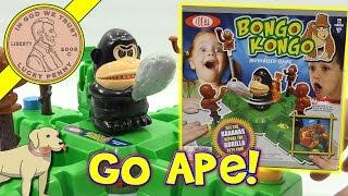 Bongo Kongo Family Game, Collect Bananas - Don't Get Smashed!